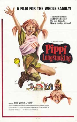 Pippi Longstocking - 11 x 17 Movie Poster - Style A