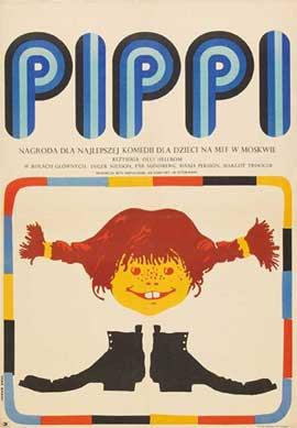 Pippi Longstocking - 11 x 17 Movie Poster - Style B