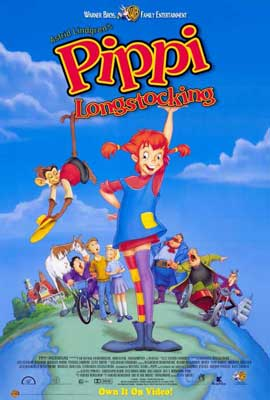 Pippi Longstocking - 27 x 40 Movie Poster - Style A
