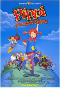Pippi Longstocking - 43 x 62 Movie Poster - Bus Shelter Style A