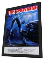 Piranha 2: The Spawning - 11 x 17 Movie Poster - Style A - in Deluxe Wood Frame