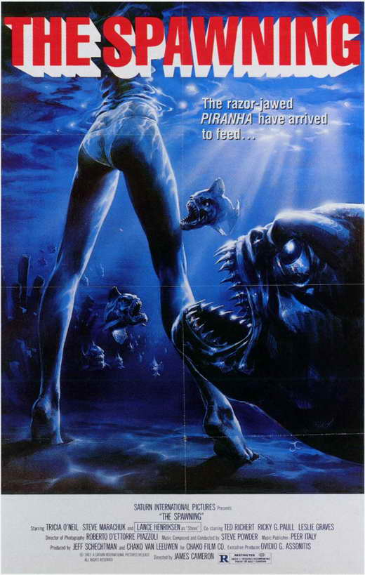 Piranha 2: The Spawning movie