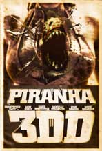 Piranha 3DD - 11 x 17 Movie Poster - Style D