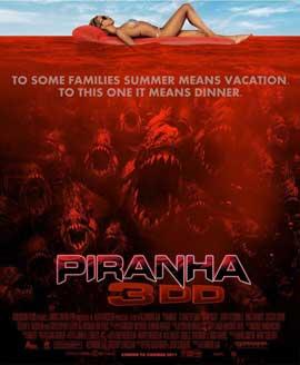 Piranha 3DD - 11 x 17 Movie Poster - Style C