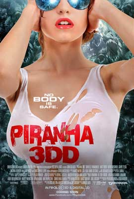 Piranha 3DD - 43 x 62 Movie Poster - Bus Shelter Style A