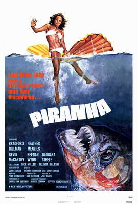 Piranha - 11 x 17 Movie Poster - Style A