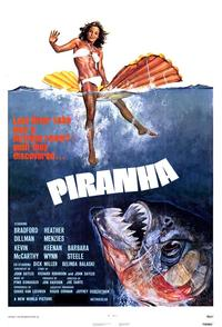 Piranha - 43 x 62 Movie Poster - Bus Shelter Style A