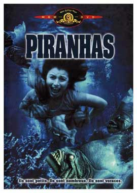Piranha - 11 x 17 Movie Poster - French Style A