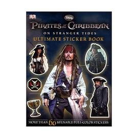 Pirates of the Caribbean: The Curse of the Black Pearl - POTC On Stranger Tides Ultimate Sticker Book