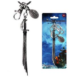 Pirates of the Caribbean: The Curse of the Black Pearl - Captain's Sword Pewter Key Chain