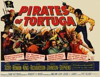 Pirates of Tortuga - 11 x 14 Movie Poster - Style A