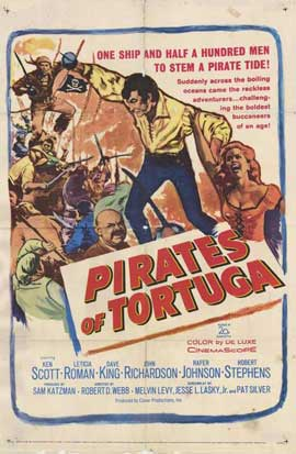 Pirates of Tortuga - 11 x 17 Movie Poster - Style A