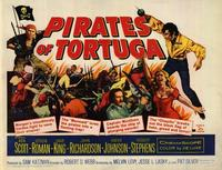 Pirates of Tortuga - 22 x 28 Movie Poster - Half Sheet Style A