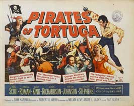 Pirates of Tortuga - 22 x 28 Movie Poster - Style A