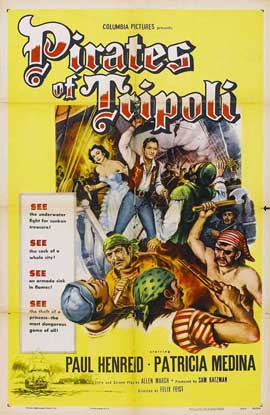 Pirates of Tripoli - 11 x 17 Movie Poster - Style A