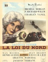 Piste du nord, La - 11 x 17 Movie Poster - French Style A