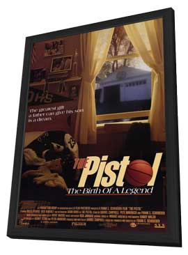 Pistol: The Birth of a Legend - 11 x 17 Movie Poster - Style A - in Deluxe Wood Frame