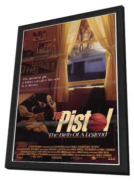Pistol: The Birth of a Legend - 27 x 40 Movie Poster - Style A - in Deluxe Wood Frame