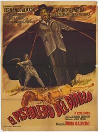 Pistolero del diablo - 11 x 17 Movie Poster - Spanish Style A