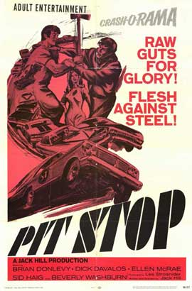 Pit Stop - 11 x 17 Movie Poster - Style A