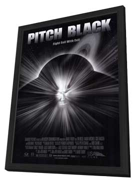 Pitch Black - 11 x 17 Movie Poster - Style A - in Deluxe Wood Frame