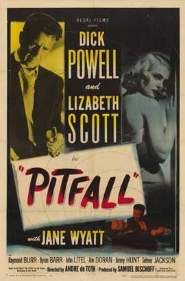 Pitfall - 11 x 17 Movie Poster - Style A