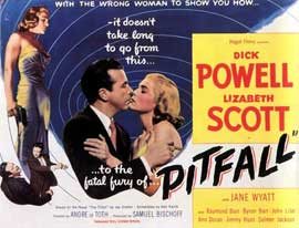 Pitfall - 11 x 17 Movie Poster - Style B