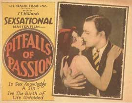 Pitfalls of Passion - 11 x 14 Movie Poster - Style A