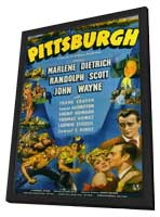 Pittsburgh - 11 x 17 Movie Poster - Style A - in Deluxe Wood Frame