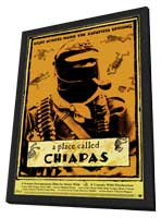 Place Called Chiapas - 11 x 17 Movie Poster - Style A - in Deluxe Wood Frame