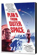 Plan 9 from Outer Space - 11 x 17 Movie Poster - Style A - Museum Wrapped Canvas
