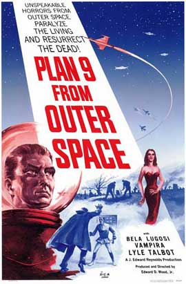 Plan 9 from Outer Space - 11 x 17 Movie Poster - Style A