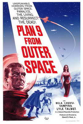 Plan 9 from Outer Space - 27 x 40 Movie Poster - Style A