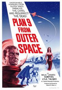 Plan 9 from Outer Space - 43 x 62 Movie Poster - Bus Shelter Style A