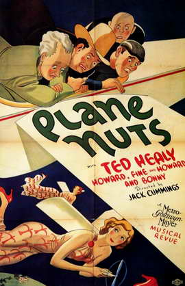 Plane Nuts - 11 x 17 Movie Poster - Style A