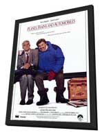 Planes, Trains & Automobiles - 11 x 17 Movie Poster - Style A - in Deluxe Wood Frame