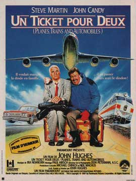 Planes, Trains & Automobiles - 11 x 17 Movie Poster - French Style A