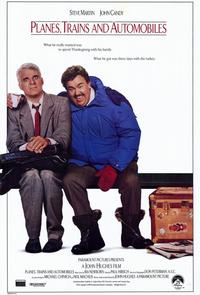 Planes, Trains & Automobiles - 11 x 17 Movie Poster - Style A - Museum Wrapped Canvas