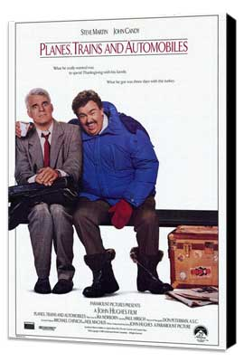 Planes, Trains & Automobiles - 27 x 40 Movie Poster - Style A - Museum Wrapped Canvas