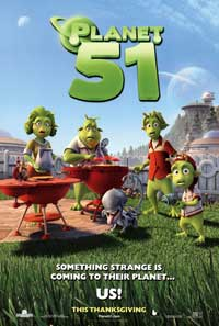 Planet 51 - 43 x 62 Movie Poster - Bus Shelter Style A