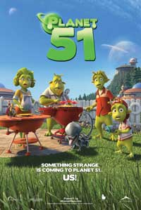 Planet 51 - 43 x 62 Movie Poster - Bus Shelter Style C