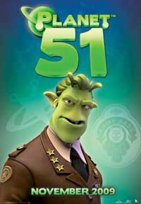 Planet 51 - 11 x 17 Movie Poster - Style G