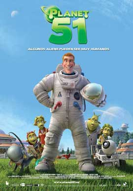 Planet 51 - 11 x 17 Movie Poster - Spanish Style A