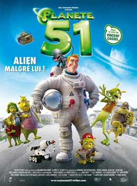 Planet 51 - 11 x 17 Movie Poster - French Style C