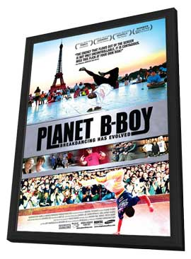Planet B-Boy - 11 x 17 Movie Poster - Style A - in Deluxe Wood Frame