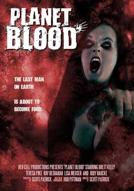 Planet Blood - 11 x 17 Movie Poster - Style A