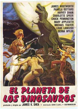 Planet of Dinosaurs - 27 x 40 Movie Poster - Spanish Style A