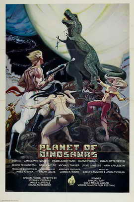 Planet of Dinosaurs - 11 x 17 Movie Poster - Style A