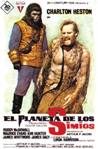 Planet of the Apes - 11 x 17 Movie Poster - Spanish Style B
