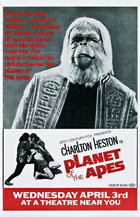 Planet of the Apes - 11 x 17 Movie Poster - Style I